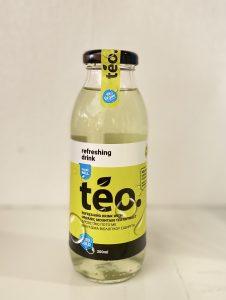 Organic ironwort(sideritis/mountain tea)extract with lemon aroma