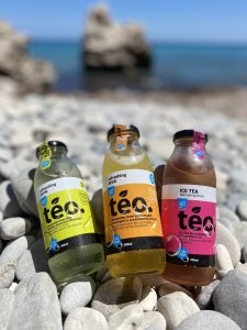 Teo ice tea-First Cypriot ice tea with organic herbs